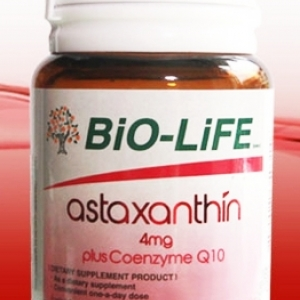 Bio-Life Astaxanthin 4 mg Plus Coenzyme Q10 30 cap