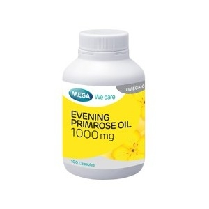 Mega We Care Evening Primrose Oil EPO 100 เม็ด