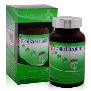 Collahealth Collagen Plus Vitamin C 100 Tablets คอลลาเฮลท์ คอลลาเจน พลัส วิตามิน ซี - 4 * 100 เม็ด