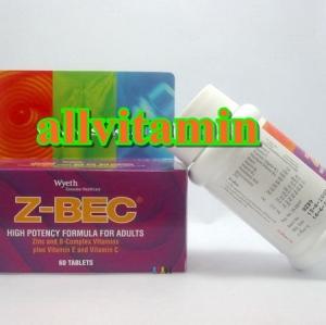 Z-BEC 60 tabs ซี-เบค 60 เม็ด