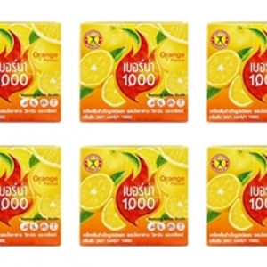 NATUREGIFT BERNA 1000 Orange Flavour 10 box