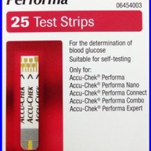 ACCU-CHEK PERFORMA 25 Test strips