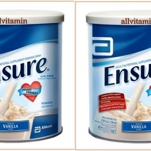 Ensure Vanilla Flavored 2 * 850 g