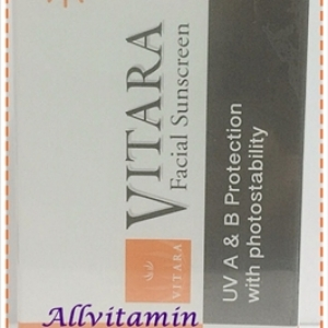 Vitara Facial Sunscreen SPF 50+