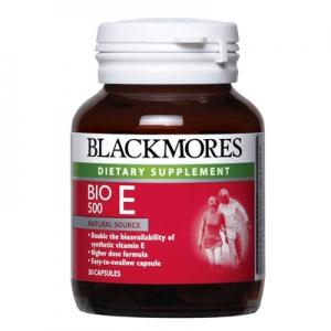Blackmores Bio E 500iu 60 เม็ด