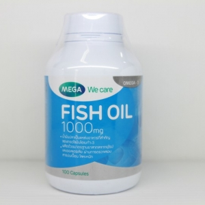 Mega We Care Fish Oil 100 เม็ด