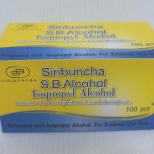 SIRIBUNCHA S.B.ALCOHOL 100 PCS