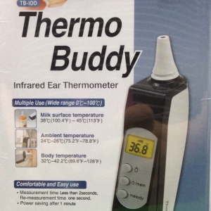 THERMO BUDDY INFRARED EAR THERMOMETER