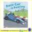 Busy Wheels : Racing Car is Roaring : Mandy Archer & Martha Lightfoot นิทานภาพ รถแข่ง thumbnail 1