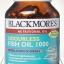Blackmores Odourless Fish Oil 1000 mg 60 เม็ด thumbnail 1