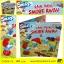 Rain Rain Smurf Away ฝนตกในหมู่บ้านสเมิร์ฟ นิทานปกอ่อน หนังสือเด็กภาษาอังกฤษ thumbnail 1