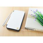 กระเป๋าสตางค์ใส่โทรศัพท์ ใบยาว ซิปรอบ Primprai ziparound wallet สีขาว