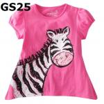 GS25 เสื้อแขนสั้น Size 3T ผ้ายืดอย่างดี หนา นิ่ม ยืดหยุ่น เนื้อผ้าดีมาก ใส่สบาย
