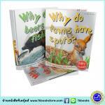First Questions and Answers, Animals : 10 Books Collection เชตหนังสือคำถามแรกและคำตอบ เกี่ยวกับสัตว์ 10 เล่ม