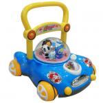 รถผลักเดินปรับหนืด สีฟ้า
