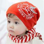 หมวกเด็ก สีแดง