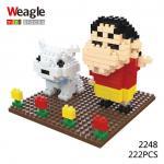 Lego Nano Block ชินจัง และ ชีโร่