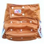 Adult Pocket Cloth Diaper & Double Guard + 1 Large 4 Layer Microfiber Insert (waist size 23 to 38inch)