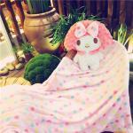 หมอนผ้าห่มMy Melody แบบเต็มตัว