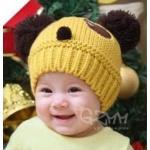 หมวกแพนด้า สีเหลือง