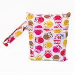 Small Wet Bag ถุงผ้ากันน้ำขนาดเล็ก - Owl