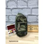 Anello polyester canvas shoulder body bag สี Camo ลายทหาร