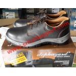 STOP HAZARD รองเท้าเซฟตี้หัวเหล็ก รุ่น SS1010 (หุ้มส้น)