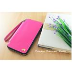 กระเป๋าสตางค์ใส่โทรศัพท์ ใบยาว ซิปรอบ Primprai ziparound wallet สีชมพู