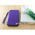 กระเป๋าสตางค์ใส่โทรศัพท์ ใบยาว ซิปรอบ Primprai ziparound wallet สีม่วง