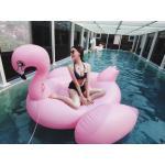แพยางเป่าลม นกฟลามิงโก้สีชมพู Giant Flamingo Inflatable