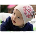 หมวกเด็ก สีเบจ