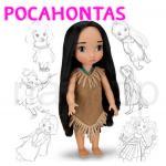 ตุ๊กตา Angel Girls รุ่น Disney Animators' Collection Doll (โพคาฮอนทัส pocahontas)