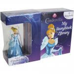 Mini Board books Set : Disney Cinderella My Storybook Library With Figurine มินิบอร์ดบุ๊คส์ 6 เล่ม พร้อมมินิฟิกร์เจ้าหญิง