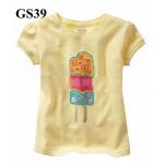 GS39 เสื้อแขนสั้น Size 2T ผ้ายืดอย่างดี หนา นิ่ม ยืดหยุ่น เนื้อผ้าดีมาก ใส่สบาย