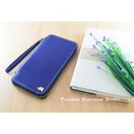 กระเป๋าสตางค์ใส่โทรศัพท์ ใบยาว ซิปรอบ Primprai ziparound wallet สีน้ำเงิน