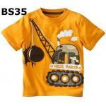 BS35 เสื้อยืดแขนสั้น ไซส์ 2T เนื้อผ้าดีมาก หนา และนิ่มสุดๆ สำหรับเด็กอายุประมาณ 2-3ขวบ