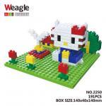 Lego Nano Block คิตตี้ ในสวน
