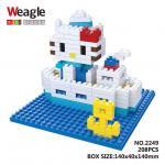 Lego Nano Block คิตตี้ ล่องเรือ