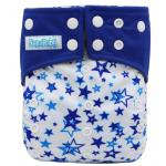 กางเกงผ้าอ้อมกันน้ำ สีน้ำเงินลายดาว