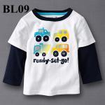 (BL09) เสื้อแขนยาว ไซส์ 2T และ 4T (ผ้าดีมาก หนา นิ่ม สำหรับเด็ก 2-3ขวบ และ 4-5ขวบ)
