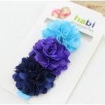 HB021 #3••สีฟ้า-ม่วง-น้ำเงิน