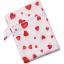 ถุงผ้ากันน้ำ 1 ช่อง Size: L (หูจับกระดุม) i2 -Red Hearts thumbnail 2