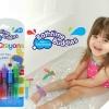 Bath time buddies สีเขียนผนังและร่างกาย ลบได้ สำหรับเด็ก Bath Crayons