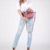 กระเป๋า KEEP Longchamp Style Duo Sister สีแดง กลิตเตอร์ ใบเล็ก ราคา 1,390 บาท Free Ems #สีแห่งปีนี้เลยค่ะ