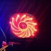 พัดลม 92มม. (9 ซม.) ไฟสีแดง 4 พิน PWM