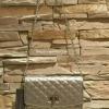กระเป๋าCHARLE & KEITH QUILTED TURN-LOCK WALLET รุ่นใหม่ล่าสุดแบบชนช็อป! วัสดุหนังนิ่มสวยลายตารางสุดคลาสสิคสไตล์ชาเเนล