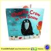 Charlie Crow in the Snow ชาลีอีกาในหิมะ หนังสือภาพ ปกอ่อนเล่มโต หนังสือเด็กภาษาอังกฤษ