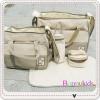 กระเป๋าสัมภาระคุณแม่ 5 ชิ้น Mummy (High-End รุ่น Huayao) สีเขียว