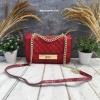 กระเป๋า Aldo Cross Body Handbag สีแดง ราคา 1,290 บาท Free Ems