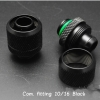 Compress fitting 10/16 Black (3/8*5/8)